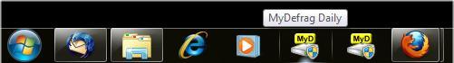 Hover Over Taskbar Button to View Descriptive Text