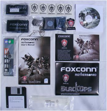 Foxconn X48 BlackOps Enthusiast Accessories