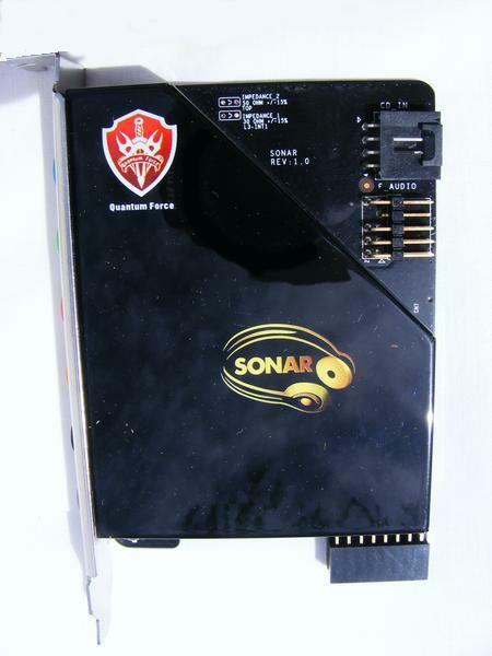 Foxconn X48 BlackOps SONAR Sound Card