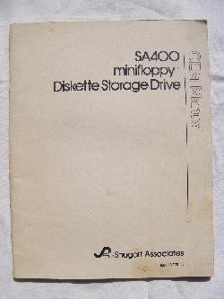 The Shugart SA400 Mini-Floppy Diskette Storage Drive Manual